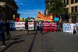 11 Juni 2017 Abschiebe Demo in Dresden-12