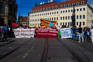 11 Juni 2017 Abschiebe Demo in Dresden-13