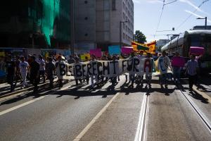 11 Juni 2017 Abschiebe Demo in Dresden-19