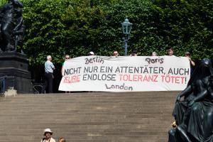 11 Juni 2017 Abschiebe Demo in Dresden-2