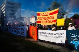 11 Juni 2017 Abschiebe Demo in Dresden-27