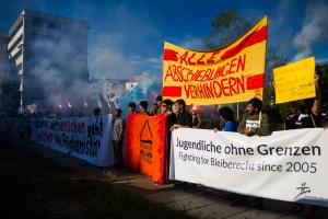 11 Juni 2017 Abschiebe Demo in Dresden-28
