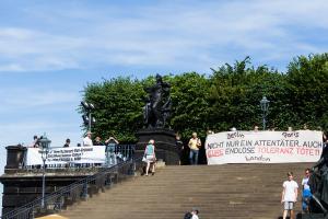 11 Juni 2017 Abschiebe Demo in Dresden-3