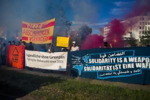 11 Juni 2017 Abschiebe Demo in Dresden-31
