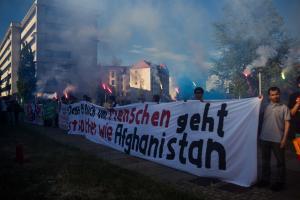 11 Juni 2017 Abschiebe Demo in Dresden-34