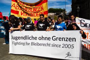 11 Juni 2017 Abschiebe Demo in Dresden-6