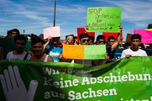 11 Juni 2017 Abschiebe Demo in Dresden-7