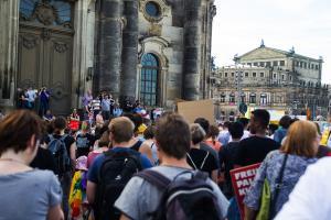 11 Juni 2017 Abschiebe Demo in Dresden-9