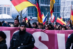 Demonstration in Berlin
