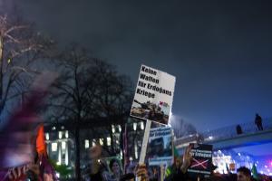 12. März 2018 Hamburg Merkel muss Weg Demo (13 von 21)