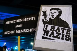12. März 2018 Hamburg Merkel muss Weg Demo (2 von 21)