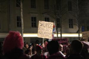 PEGIDA und Gegenprotest