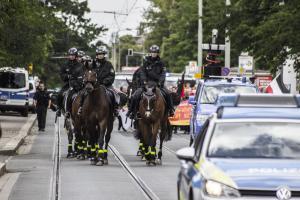 NPD Demo in Niederedlitz und Gegenprotest