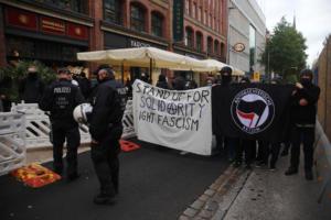 Hamburg Querdenken demo 17 10 2020016