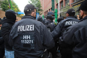 Hamburg Querdenken demo 17 10 2020035