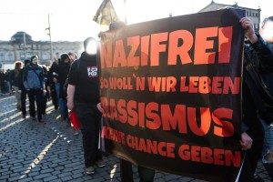 Gepida Demonstration in Dresden