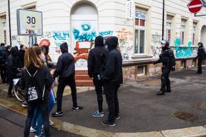 18. März Die Rechte in Leipzig-18
