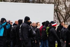 18. März Die Rechte in Leipzig-36