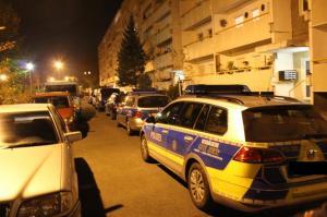 Polizei in Tolkewitz