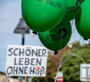 Hess Marsch Gegendemo in Berlin