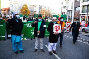 20. November 2020 Hamburg Salafisten Demo (12 von 37)
