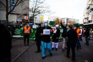 20. November 2020 Hamburg Salafisten Demo (13 von 37)