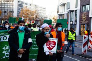 20. November 2020 Hamburg Salafisten Demo (14 von 37)