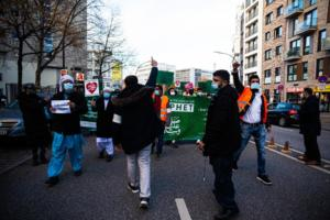 20. November 2020 Hamburg Salafisten Demo (15 von 37)