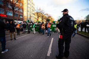 20. November 2020 Hamburg Salafisten Demo (18 von 37)