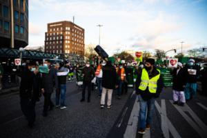 20. November 2020 Hamburg Salafisten Demo (23 von 37)