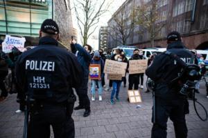 20. November 2020 Hamburg Salafisten Demo (27 von 37)