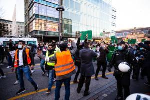 20. November 2020 Hamburg Salafisten Demo (32 von 37)