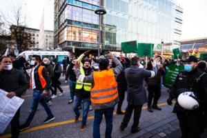 20. November 2020 Hamburg Salafisten Demo (33 von 37)