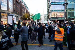 20. November 2020 Hamburg Salafisten Demo (35 von 37)