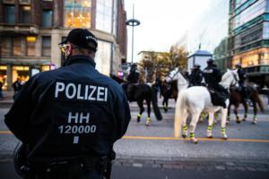 20. November 2020 Hamburg Salafisten Demo (36 von 37)