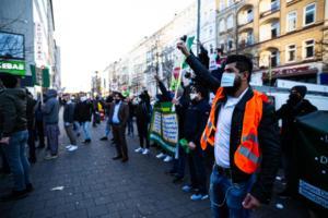 20. November 2020 Hamburg Salafisten Demo (9 von 37)