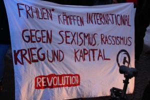 Afrin Demo in Dresden 2