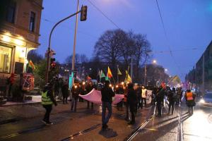 Afrin Demo in Dresden 10