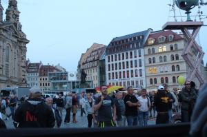 Pöbler nach der AfD Veranstaltung