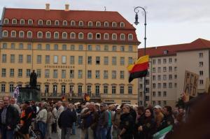Umgedrehte Deutschlandfahne