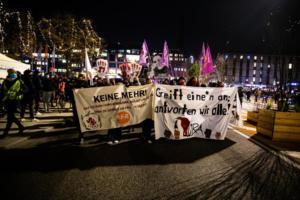 Flint Demonstration in Hamburg