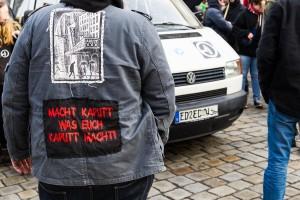 Bildung statt Rassismus Demonstration in Dresden