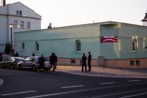Mahnwache an Fatih-Moschee