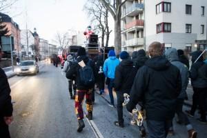 28. Januar Nachttanz Demo Löbtau (8 von 22)
