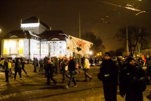 30. Januar Pegida Nope Blockade (15 von 20)