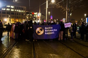 30. Januar Pegida Nope Blockade (18 von 20)