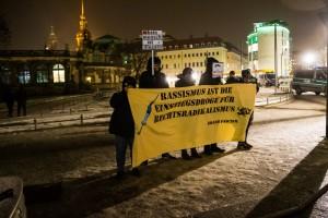 30. Januar Pegida Nope Blockade (6 von 20)