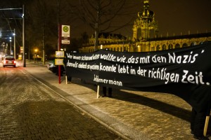 30. Januar Pegida Nope Blockade (7 von 20)