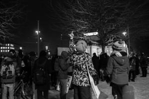 30. Januar Pegida Nope Blockade (9 von 20)