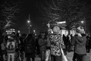 30. Januar Pegida Nope Blockade (10 von 20)